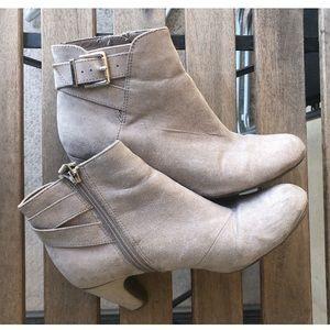 Sam & Libby Grey Ankle Boots